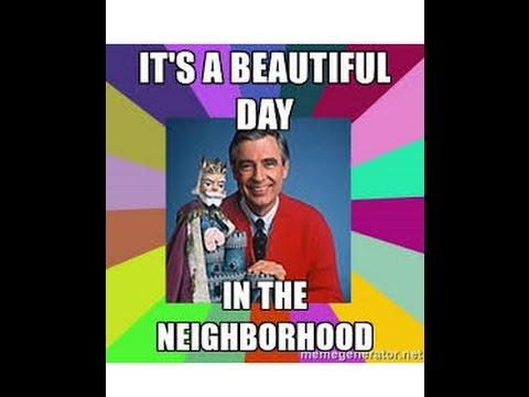The Mandela Effect Mr Rogers It S A Beautiful Day In The Neighborhood Please Vote 84 Youtube