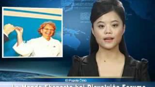 esperanto - Novaĵo - televid-ĵurnalo (El popola ĉinio - septembro 2010)