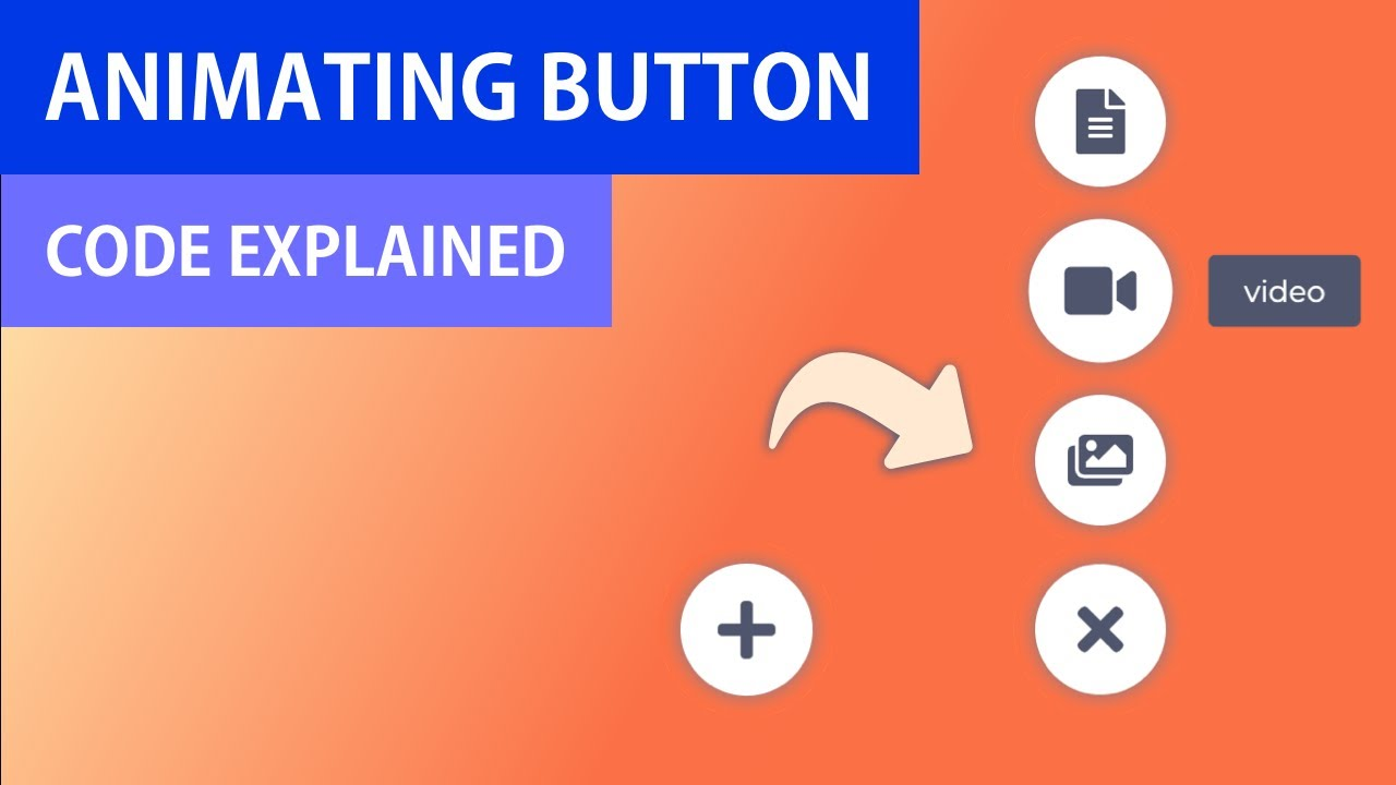 Add Button Animation from Scratch | HTML CSS Vanilla JS | Code Explained