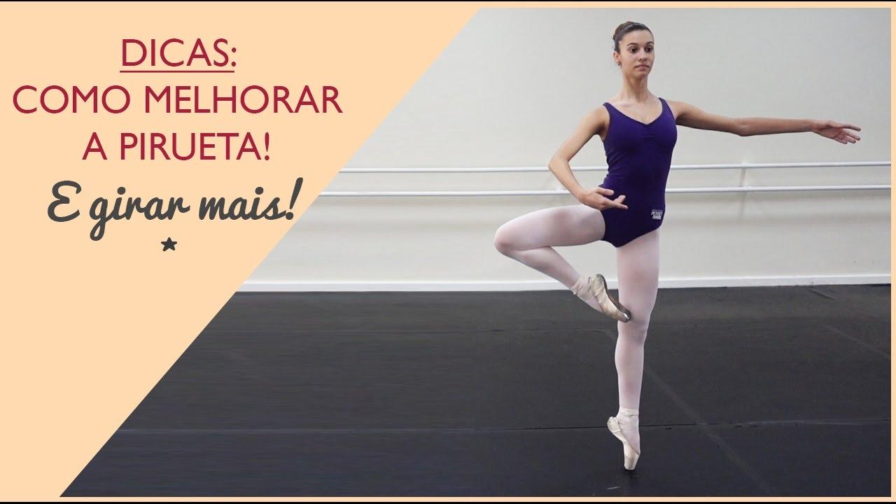 95f965e49c Ballet  Dicas para melhorar a pirueta e girar mais! - YouTube