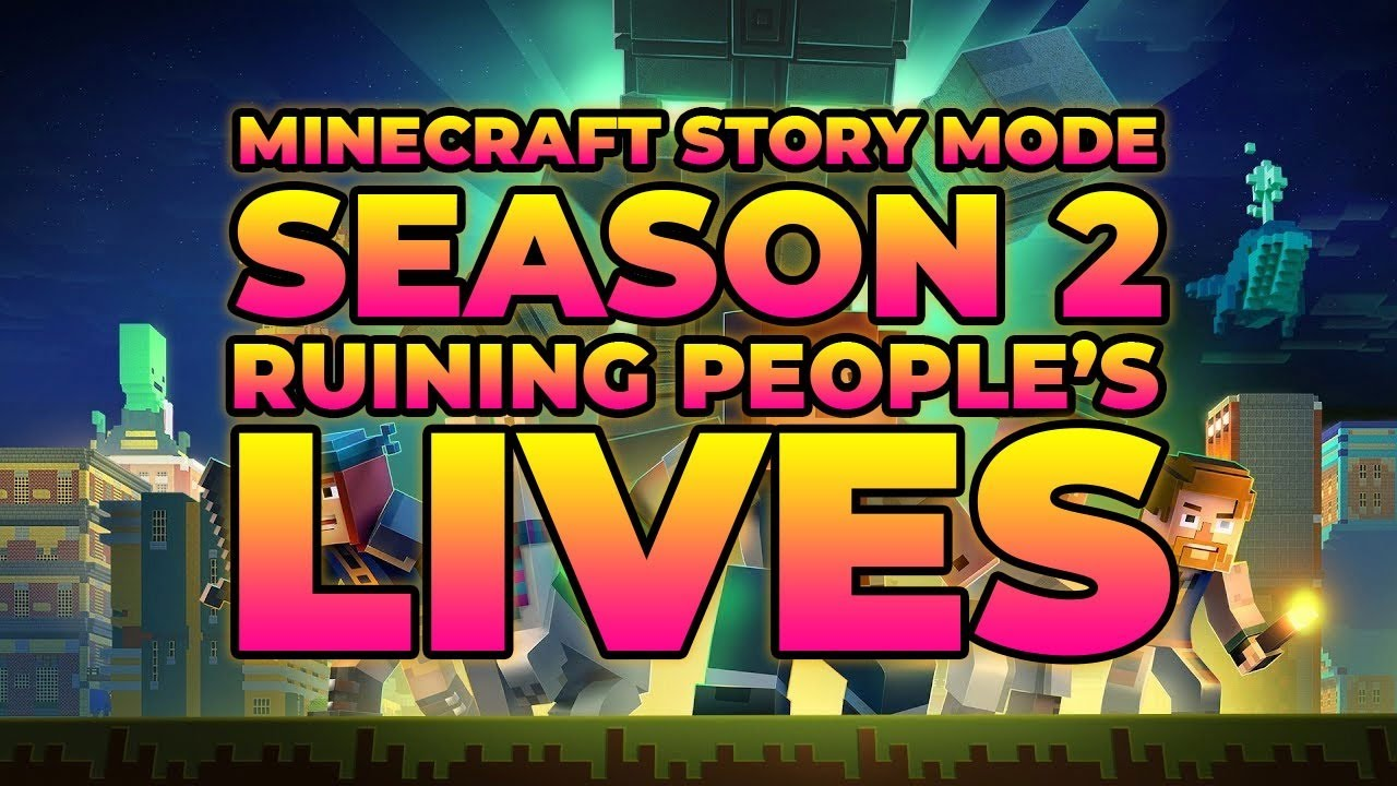 Ruining Peoples Lives Episode 3 Minecraft Story Mode