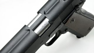 review of the we tech double barrel 1911 gbb pistol