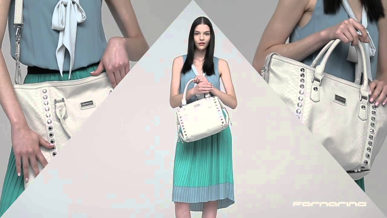 Fornarina - Très Jolie Bag SS15 - YouTube a300b316630