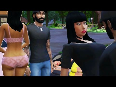 Celebrity House Ep. 1 - Nicki Minaj Can't Believe What Neal Bridges Did - The Sims 4 Outdoor Retreat