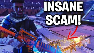 How does this SCAM still EXIST in 2019... 😱 (Scammer Get Scammed) Fortnite Save The World