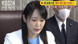 森大臣「胸が張り裂ける思い」賭け麻雀問題で訓示(20/05/29)