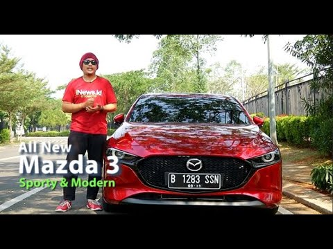 Video Review All New Mazda 3, Tampil Sporty Bertabur Fitur Modern
