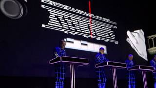 Kraftwerk.Radioland.Amsterdam Paradiso 2015