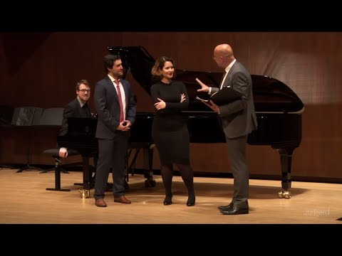 Act 1 Duet from Bizet's 'Carmen' | Juilliard Emmanuel Villaume Vocal Arts Master Class