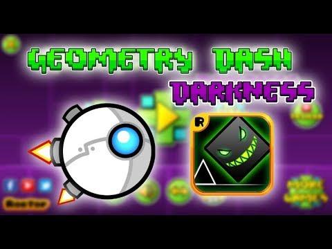 PRUEBA YA EL GEOMETRY DASH 2.2 DARKNESS EDITION!!! (FANGAME)