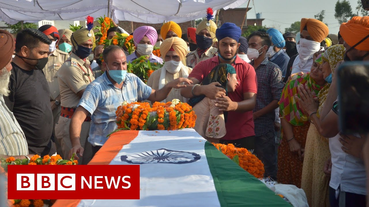 Funerals held for Indian soldiers killed in China Ladakh clash thumbnail