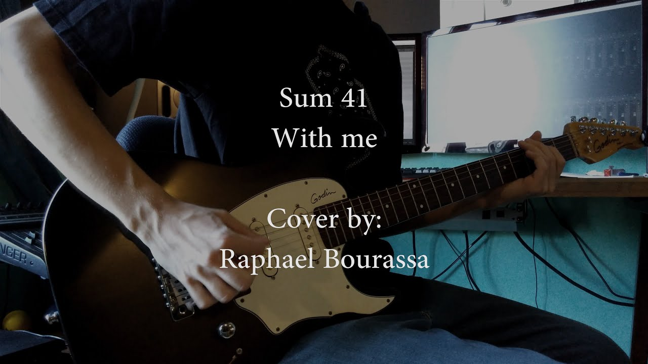 Sum 41 With Me Full Instrumental Cover Tabs In Description