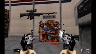 Duke Nukem 64 Mod - Level 2: Gun Crazy