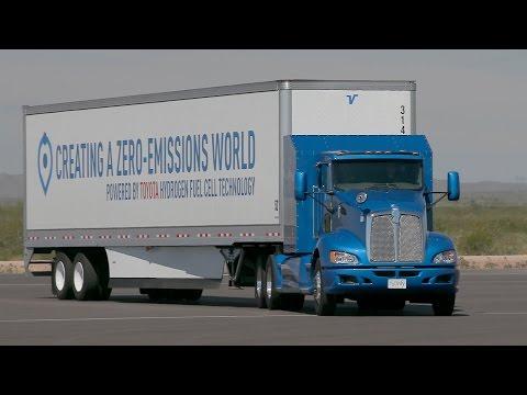 Toyota Project Portal Hydrogen Fuel Cell Truck
