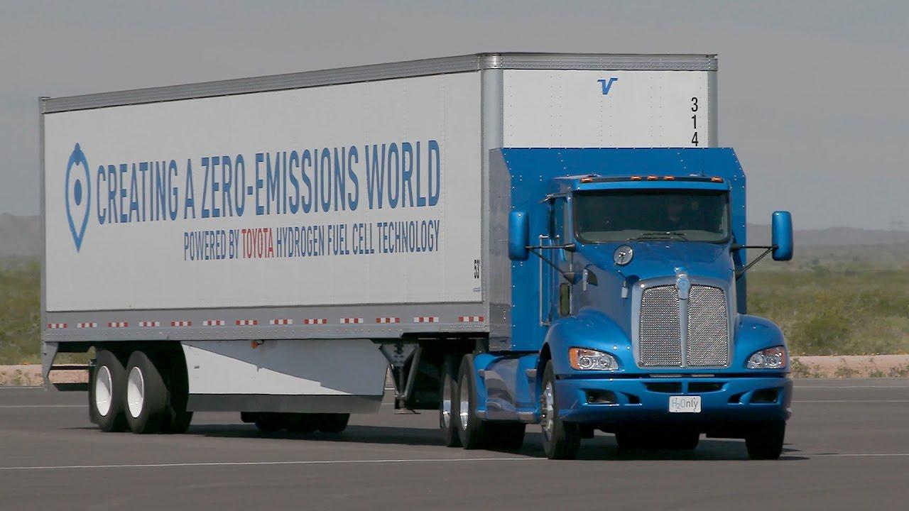 Водородный грузовик Toyota Project Portal