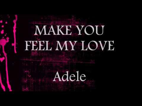 Make You Feel My Love - Adele    Lower Key Karaoke (-2)