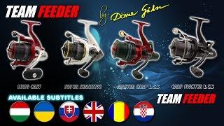 Bemutatkoznak az új Team Feeder orsócsaládok