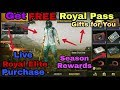 Get PUBG Mobile Free Royal Pass / Season 3 New Update live purchase with amazing things