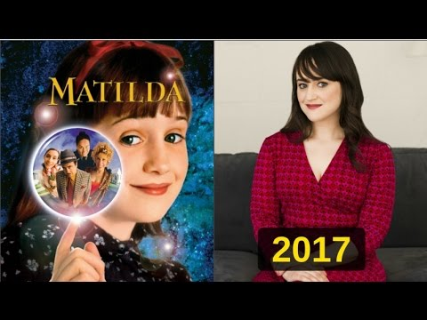 "Then And Now The Cast Of ""Matilda"""