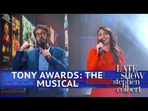 """Tony Awards The Musical"" Starring Sara Bareilles & Josh Groban"