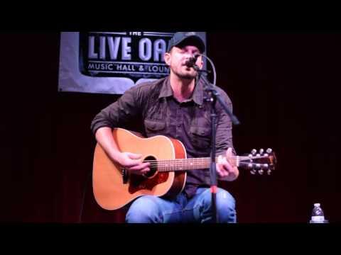 Josh Grider @ Live Oak Music Hall in Ft Worth, TX 10/24/15
