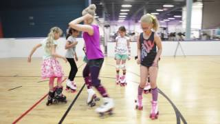 Roller Dance Owl Skate School, Vancouver BC/ Canada. Music: Mr.President - Coco Jambo