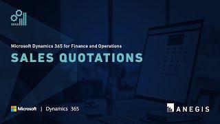 Dynamics 365 Operations: Sales Quotations