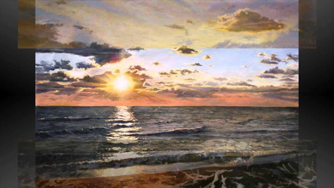 Волны живопись