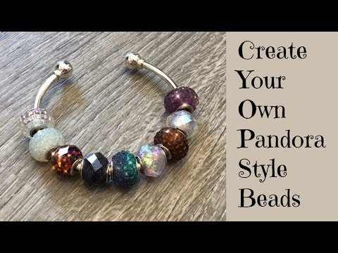 Creating UV Resin Pandora Style Faceted Beads for Jewelry Making DIY UV Resin Tutorial