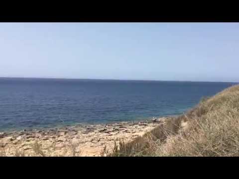 Bugibba  beach Malta HD
