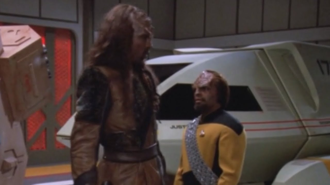 TNG Edit -  Too Short a Klingon