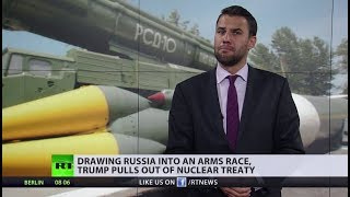 Trump withdraws from nuclear treaty... wait, did we see something like this already?