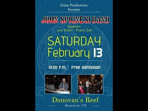 John Spignesi Band - 2/13/16 - Donovan's Reef - Branford, CT