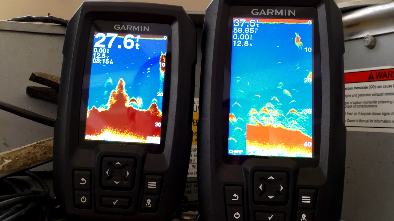 Garmin Striker Plus 4 and Striker 4 Side by Side Comparison