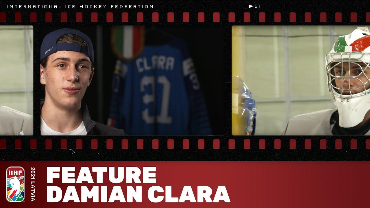 Feature: Damian Clara | #IIHFWorlds 2021