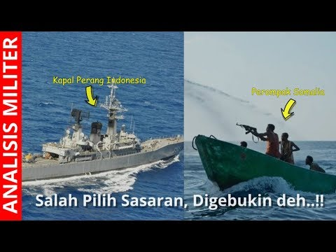 Menegangkan, Aksi Militer Indonesia Bebaskan Kapal Ini Dari Perompak Somalia