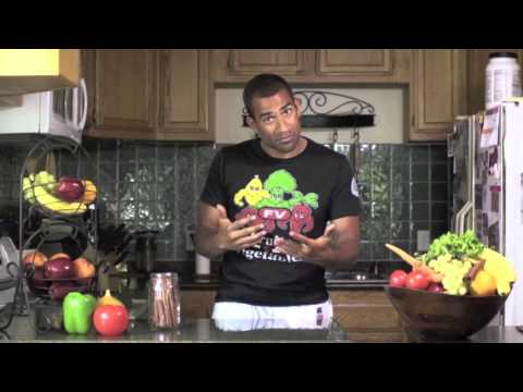 "Renato Laranja's secret to health ""Fruits and Vegetables"""