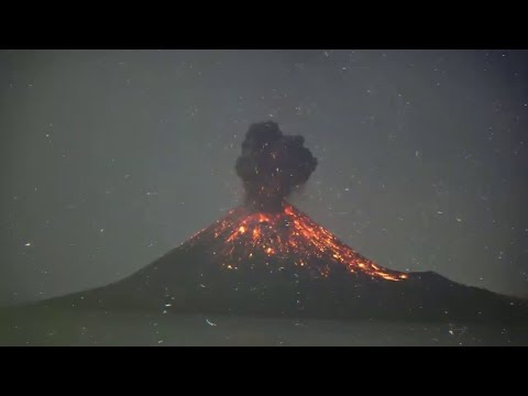 Dieser junge Vulkan könnte bald ausbrechen