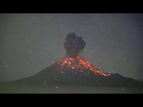 Dieser junge Vulkan