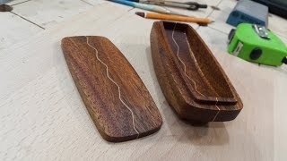 Wooden Wave Box