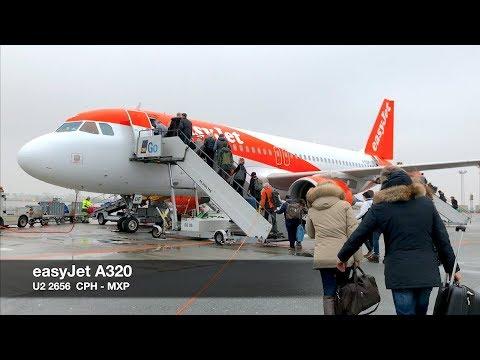 TRIP REPORT   easyJet A320 SpaceFlex   Copenhagen ✈ Milan MXP