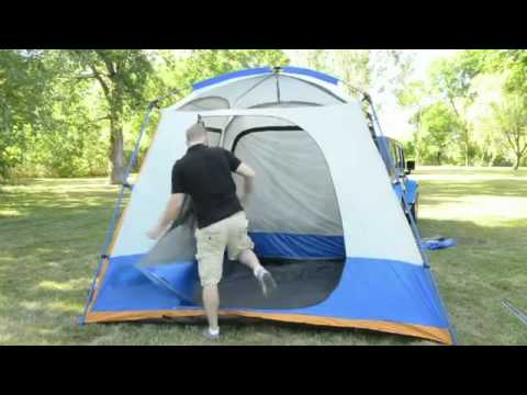 Napier Outdoors SUV Tent 84000 Review & Napier Outdoors SUV Tent 84000 Review - YouTube