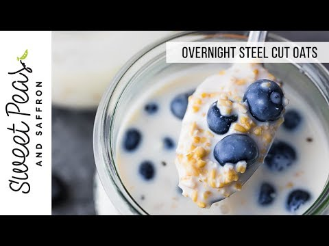 Savory Overnight Steel-Cut Oatmeal