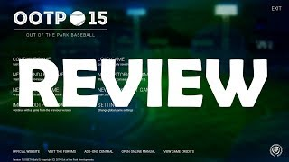 Out of the Park Baseball 15 - Review