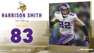 #83: Harrison Smith (S, Vikings) | Top 100 Players of 2019 | NFL