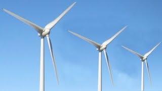 Подошли вплотную к ветряку! Ветрогенератор большой мощности