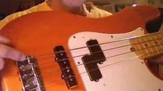 Free Online Absolute Beginner Bass Guitar Lesson Number 1