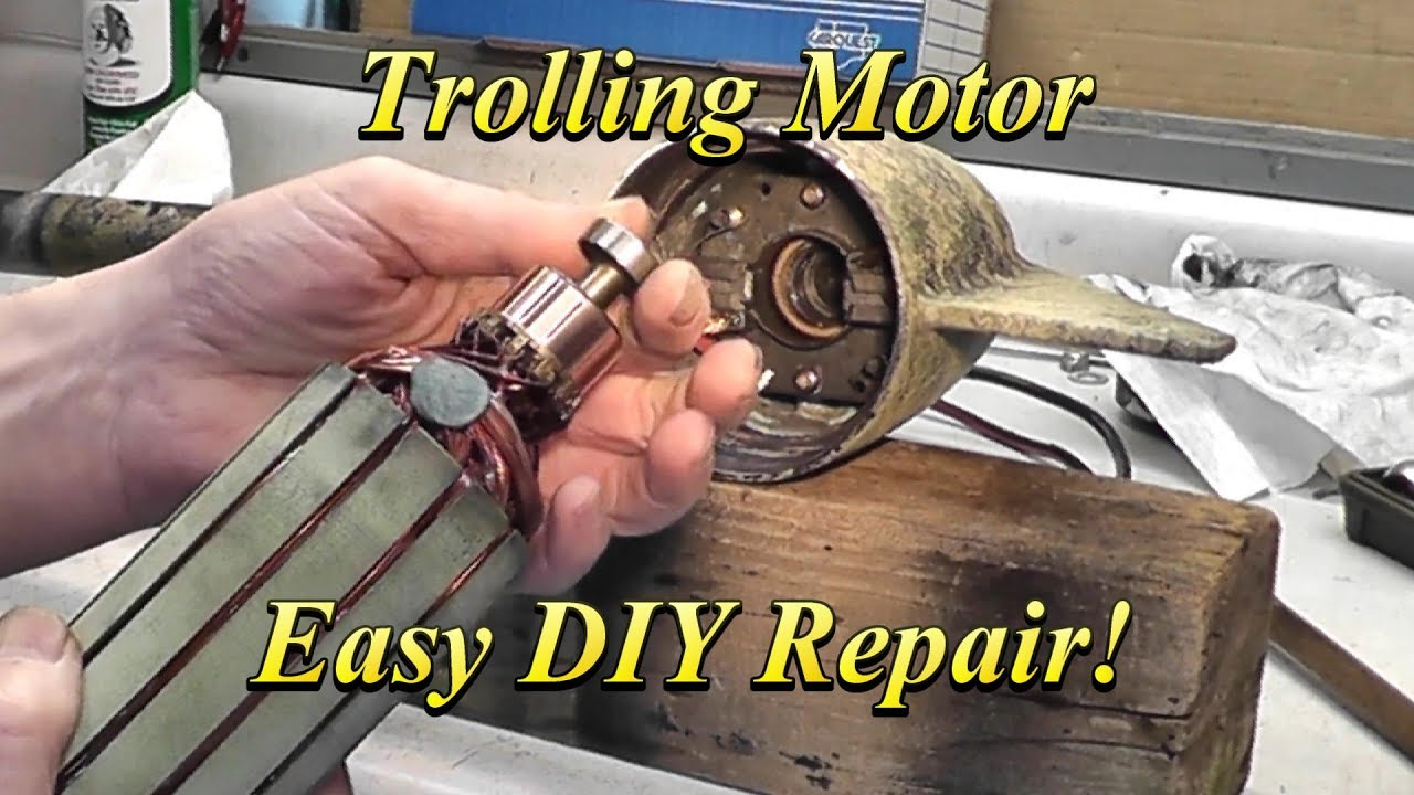Electric Trolling Motor Diagnose and Repair
