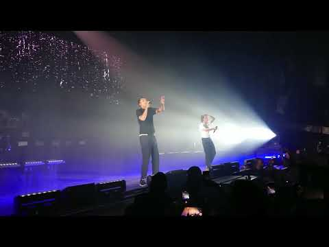 Orelsan ft Stromae - la pluie 23/03/2018 (live forest National Bruxelles)