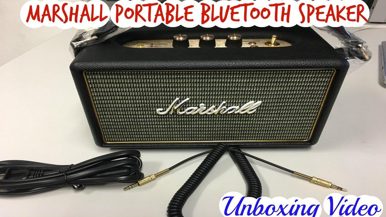 Marshall Kilburn Portable Bluetooth Speaker Review